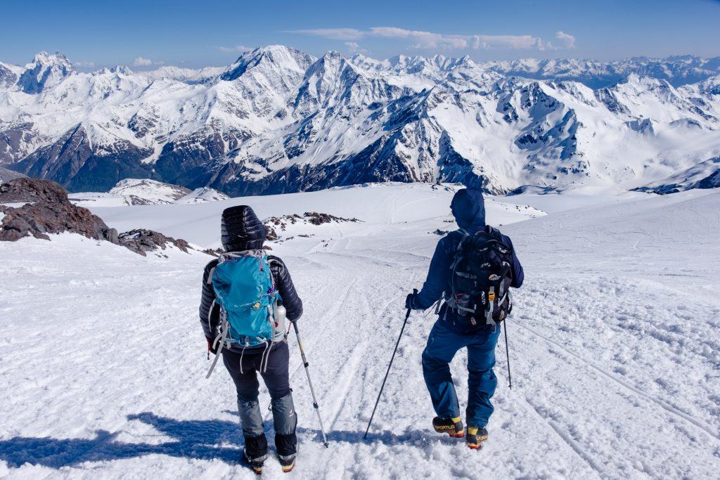 Janiina Kauppinen Elbrusilla