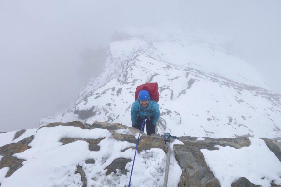 Janiina Kauppinen Matterhornilla